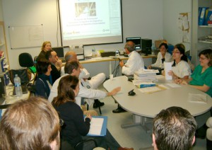 Sesion clinica on line web