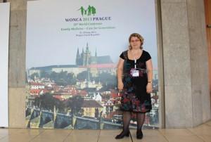 Pruteanu en Congreso de Praga