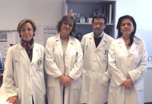 Rosa Ofelia Ramis, Mª José Martínesz, Manuel Sánchez y Amparo Marco