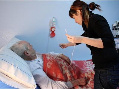 Paciente atendido en su domicilio