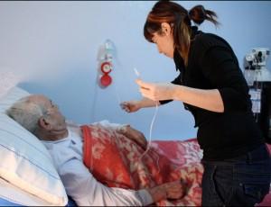 Paciente en su domicilio