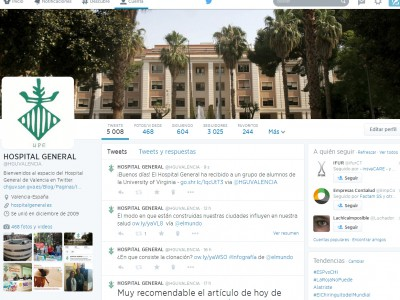Twitter Hospital General de Valencia
