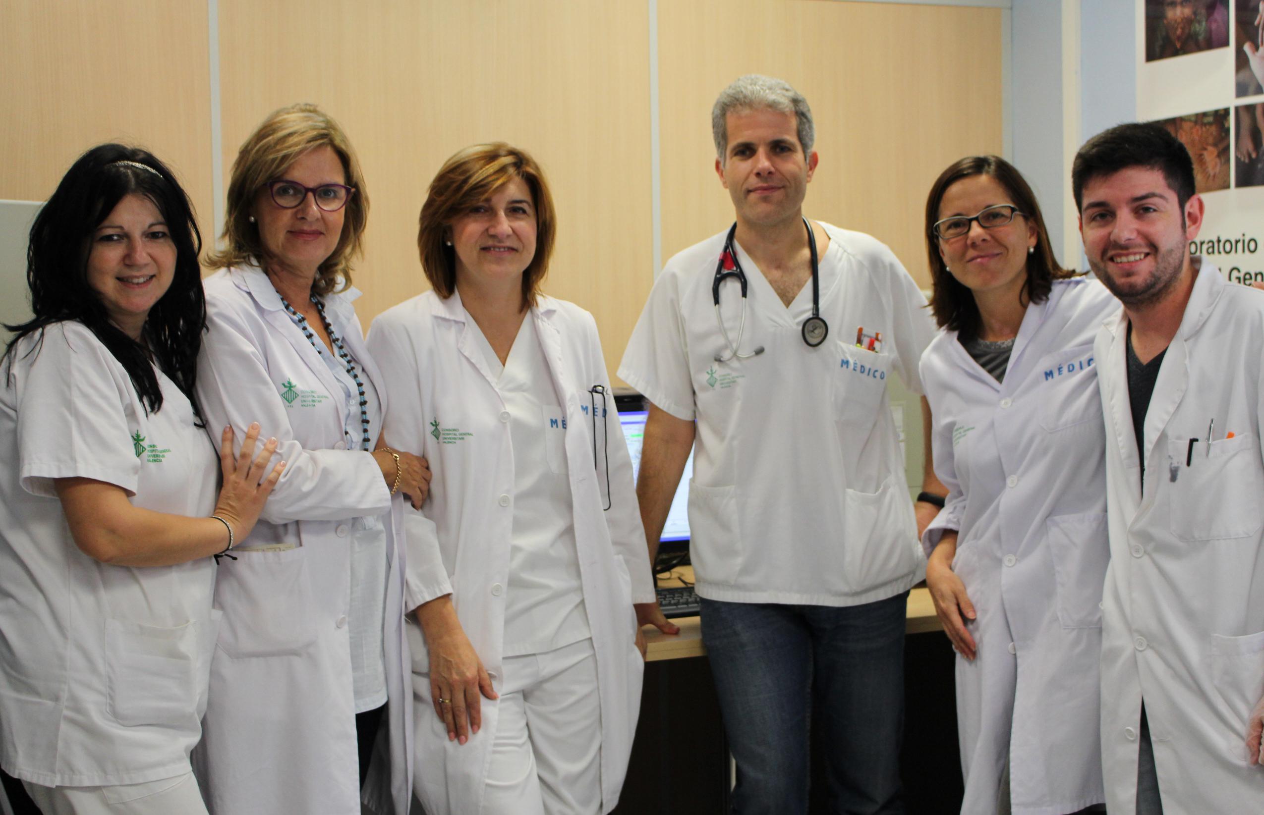 2014 10 07 Equipo estudio genetico unidad cardiopatias familiares