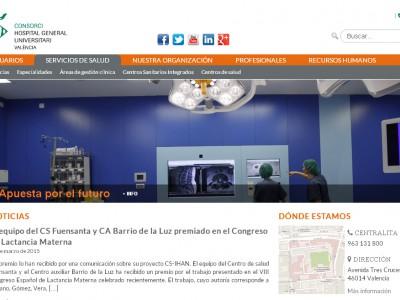 Pantallazo nueva web