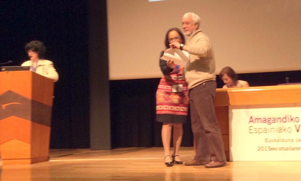 PremioVIII Congreso LM Bilbao 2015