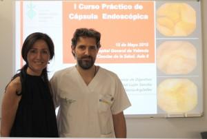 2915 05 15 Marisol Lujan y Javier Sempere curso capsula endoscopica