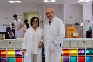 Teresa Fernandez y Carlos Camps