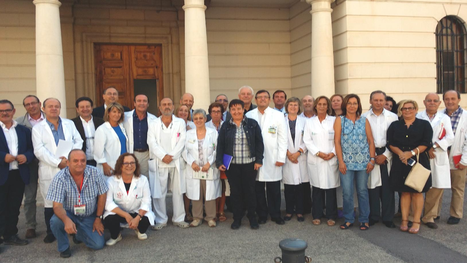 Enrique ortega presenta al equipo directivo a los - Empresas de comedores escolares valencia ...