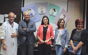 Coordinador Fuensanta, director gerente CHGUV, consellera, directora AP del CHGUV y directora Salud Publica