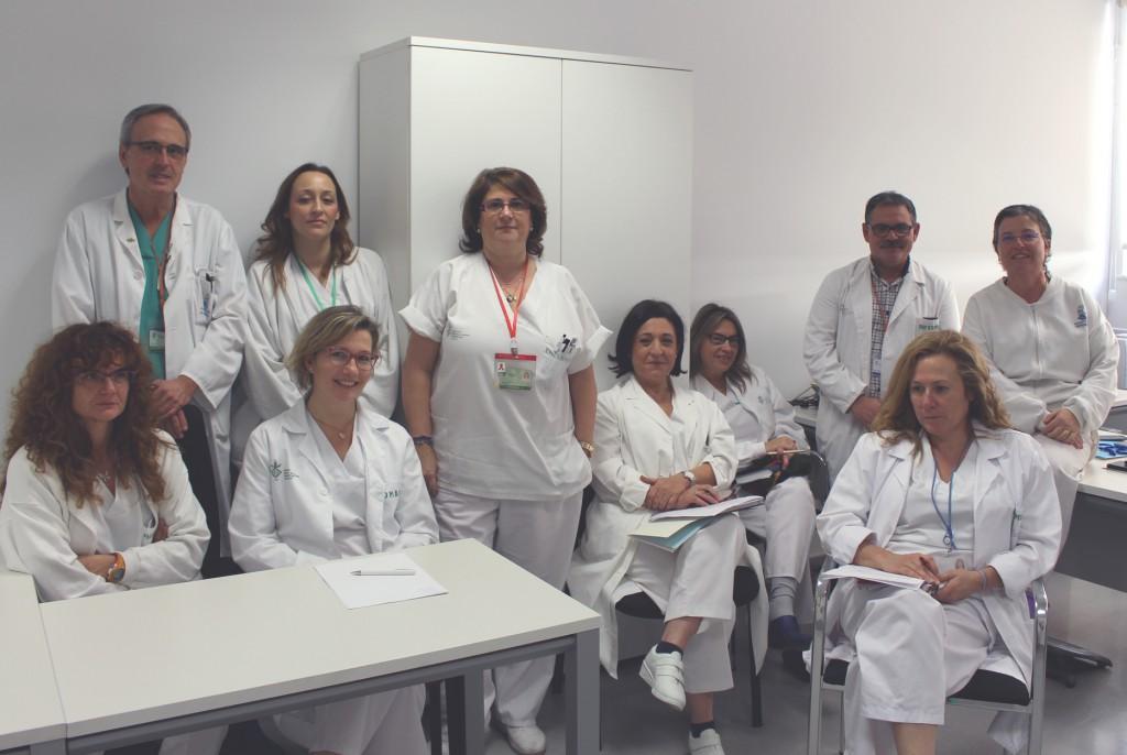 Supervisoras/es de nueva incorporación y equipo de dirección de Enfermería