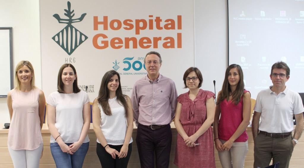 2016 06 22 Grupo ponentes jornada Nutricion Hospitalaria