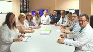Visita enfermeras Hospital del Mar