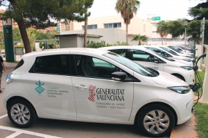 Coches electricos Hospital General