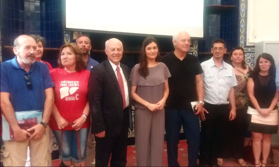 Enrique Ortega Dia contra la Hepatitis C