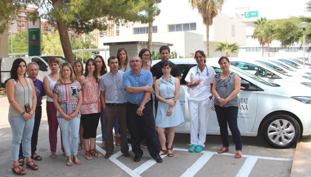 UHD equipo con coches