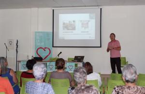 2016 09 19  Ruta de la Salut Charla Nutricion en L'Eliana