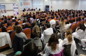 2016 11 15 Afluencia jornada contra la violencia de genero HGUV