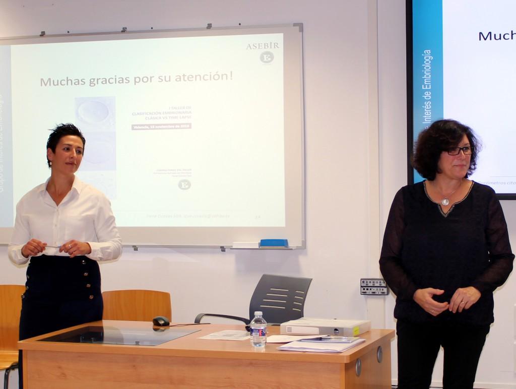 Irene Cuevas y M Victoria Hurtado