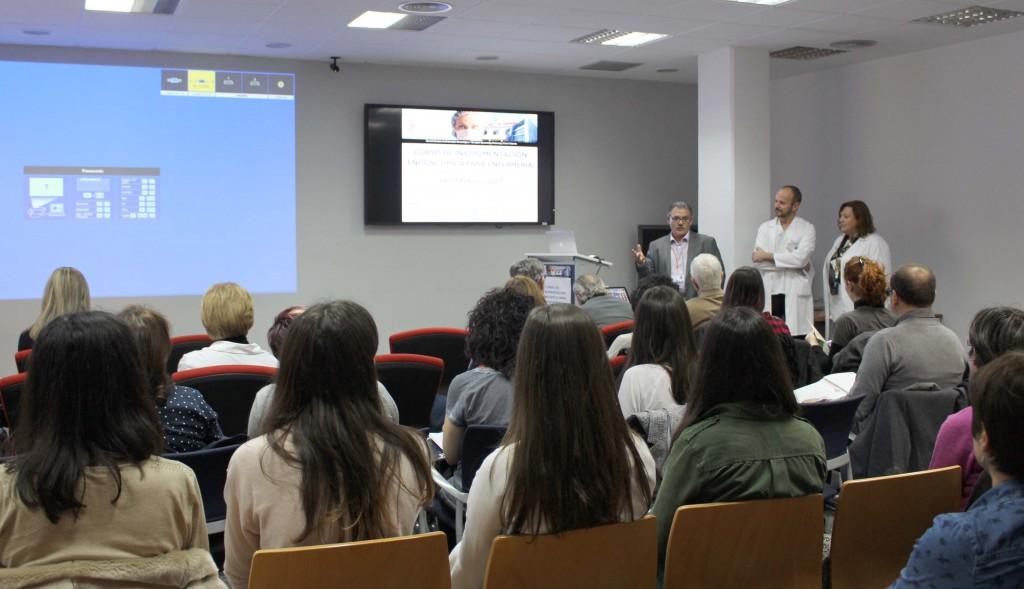 2017 02 16 inauguracion curso enfermeria endoscopia Tomas Aparicio