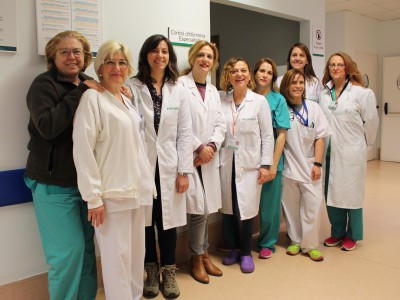 2017 02 21 Enfermeras Urgencias Hosp Gneral VLCIA proyecto Sumamos Excelencia