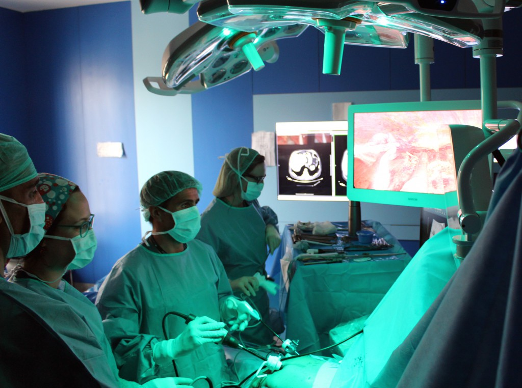 Cirugia en el General de Valencia