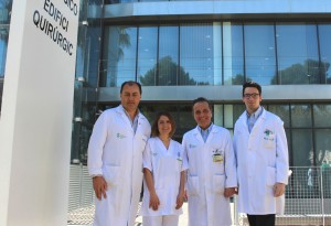 General VLC. Equipo trasplante cornea. Artigues, Serrano, Cervera y Calvo