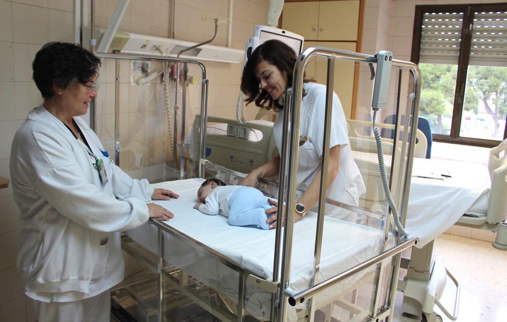 General VLC. Nuevas cunas Pediatria