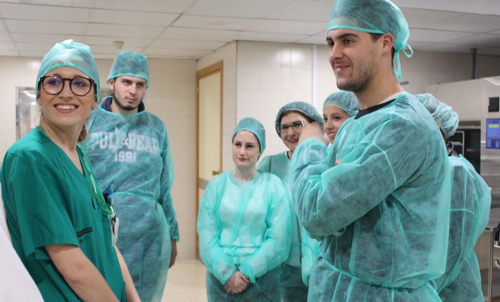 Central de esterilizacion detalle alumnos