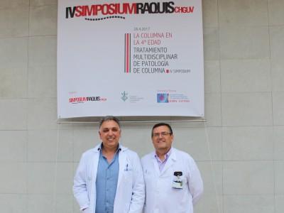 Miguel Sanfeliu y Francisco Quiles