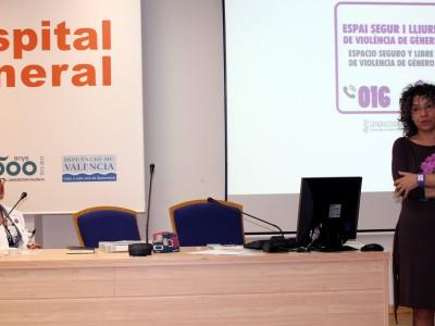 Presentacion conferencia contra violencia de genero