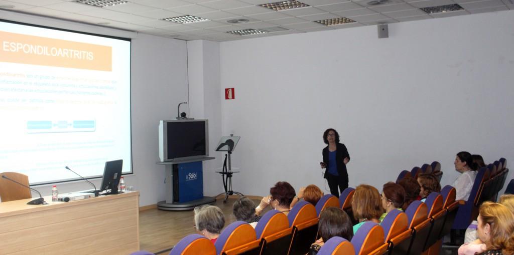 Cristina Campos mes del paciente reumatologico