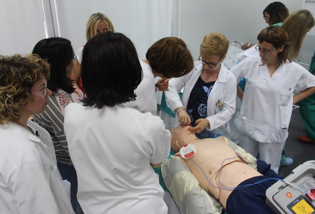 2017 06 06 Curso RCP enfermeria Irene 2