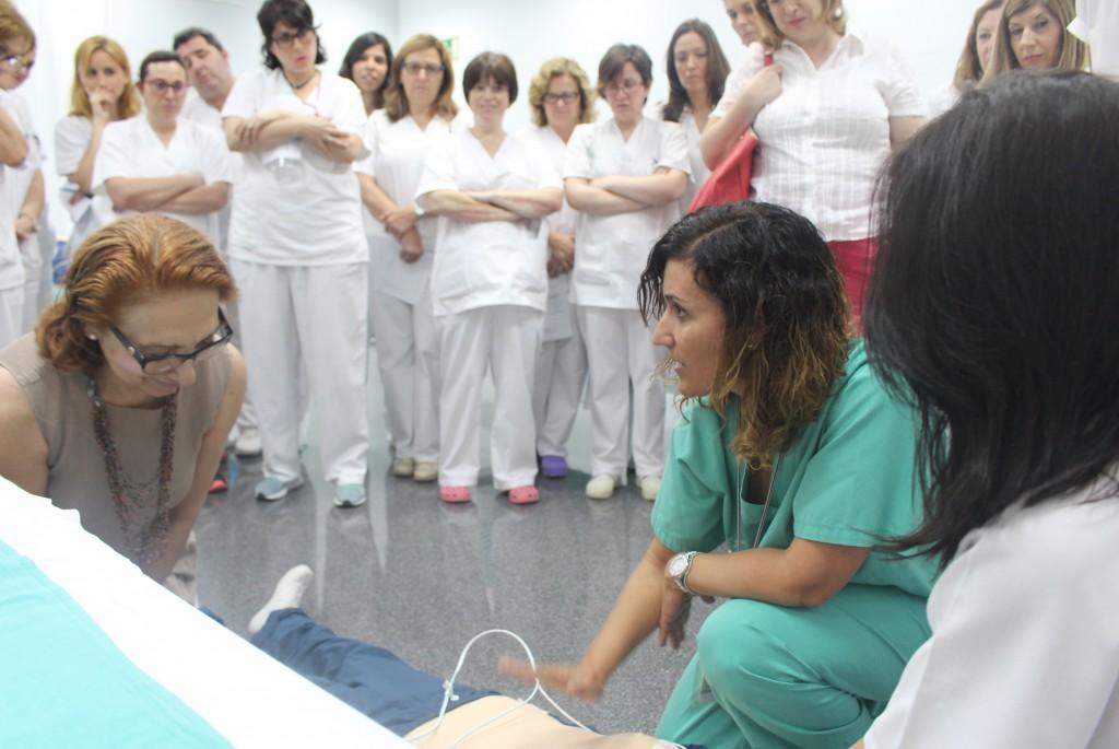 2017 06 06 Curso RCP enfermeria grupo alumnas