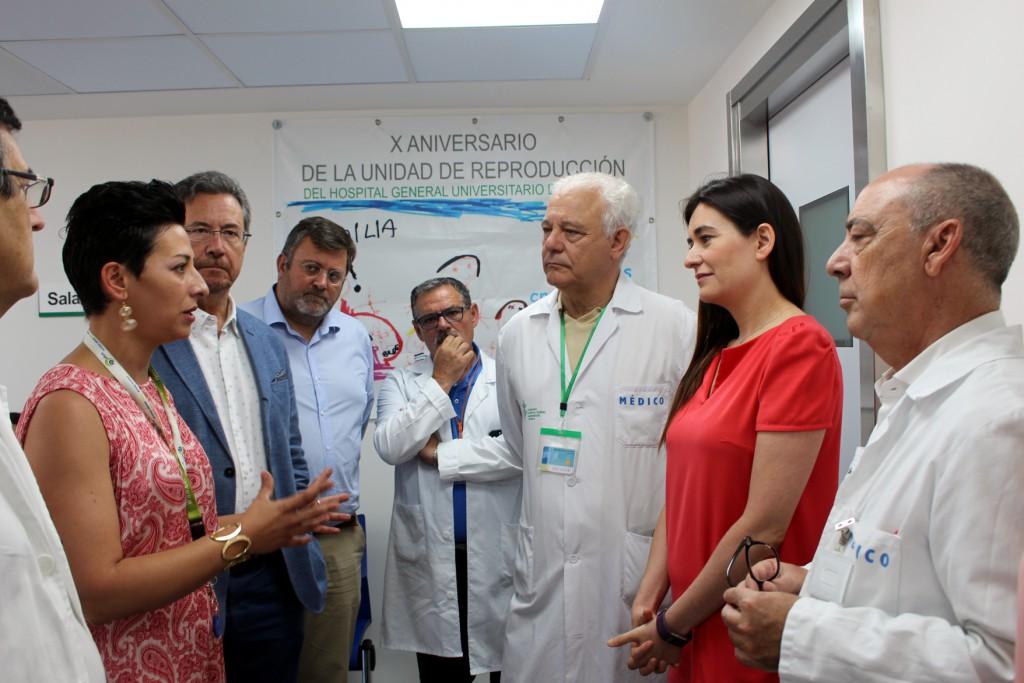Entrada a laboratorios Unidad Medicina Reproductiva