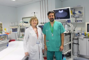 Pilar Canelles y Javier Sempere Hospita General Valencia