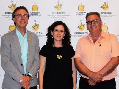 Carlos Sanchez colegiado de honor Dietistas y Nutricion