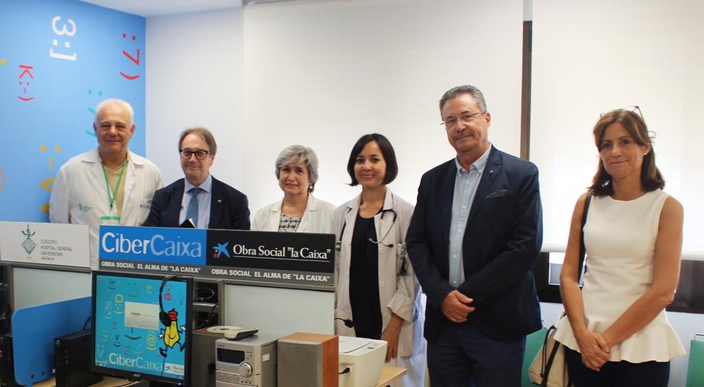 General VLC Cibercaixa grupo