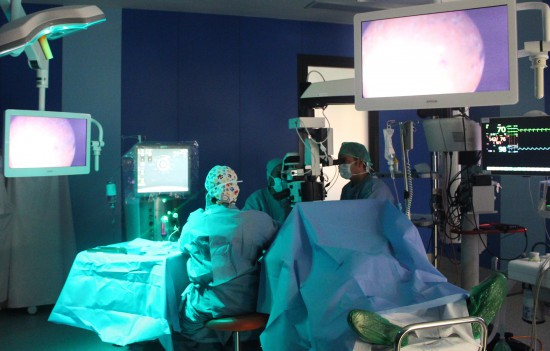 General VLC. Operacion oftalmologia