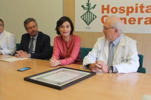 2017 10 18 Carmen Monton felicita profesionales de Oncologia