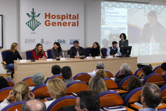 Mesa ponentes reumatologia HGUV