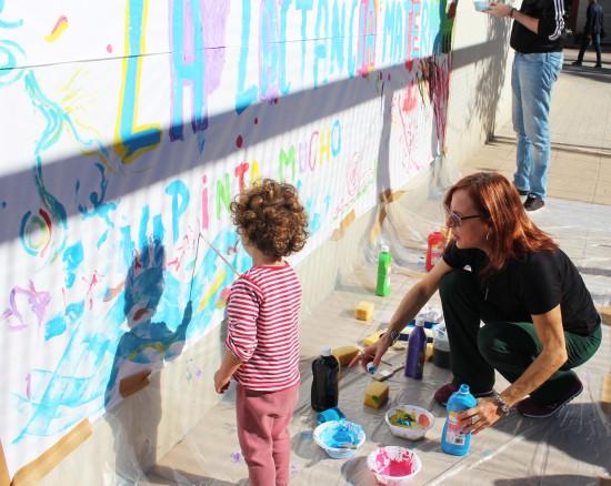 Ninyo pintando