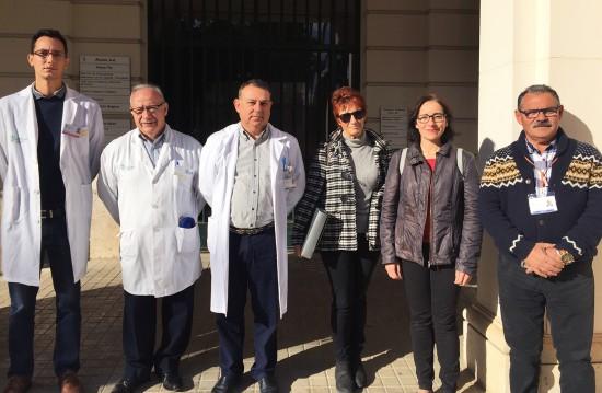 Visita al Hospital General Valencia