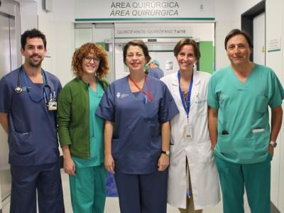 Equipo anestesiologia HGUV