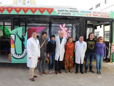 General VLC. Autobus solidario